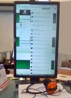schermo verticale